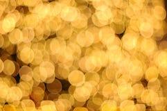 Unscharfer abstrakter goldener Hintergrund Lizenzfreie Stockfotografie
