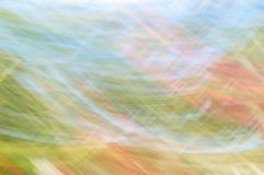 Unscharfer abstrakter Hintergrund Orange Blaues und grün Stockfoto