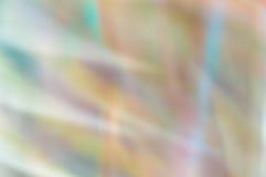 Unscharfer abstrakter Hintergrund Pastellregenbogenlichter Stockbild