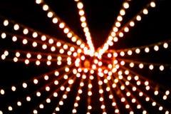 Unscharfer abstrakter Lichter bokeh Hintergrund Defocused abstrakter Weihnachtshintergrund Stockfotografie
