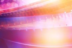 Unscharfer Film streift Hintergrund ab Stockfotografie