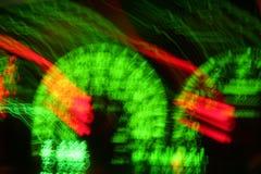Unscharfer Geschwindigkeitsmesser Lizenzfreies Stockfoto