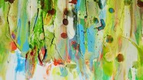 Unscharfer grün-blauer schlammiger wächserner klarer Hintergrund in den klaren Farben Stockfoto