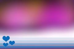 Unscharfer Hintergrund - Illustration Lizenzfreies Stockbild