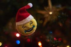 Unscharfer Hintergrund, Weihnachtsbaumdekoration Lizenzfreies Stockbild