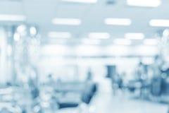 Unscharfer Innenraum des Krankenhauses lizenzfreie stockfotos