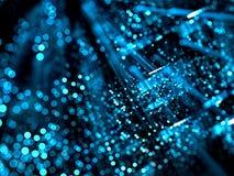 Unscharfer Technologiehintergrund - extrahieren Sie digital erzeugtes ima Lizenzfreies Stockbild