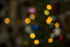 Unscharfer Weihnachtshintergrund Stockbild