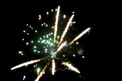 Unscharfes abstraktes Bild des Feuerwerks Lizenzfreies Stockbild