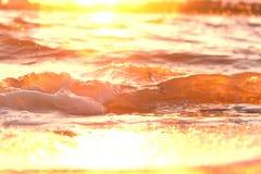 Unscharfes Bild von Wellen lizenzfreies stockbild