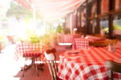 Unscharfes Café Lizenzfreies Stockfoto