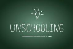 Unschooling Fotografia Stock