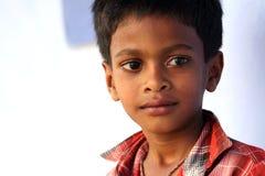 Unschuldiger indischer Junge Lizenzfreie Stockbilder