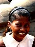 Unschuldiges Lächeln lizenzfreie stockbilder