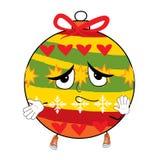 Unschuldiges Weihnachtsbaumspielzeug Lizenzfreie Stockfotos