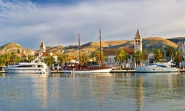 UNSCO town of Trogir waterfront Stock Photo