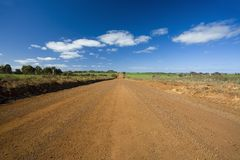 Unsealed road Royalty Free Stock Photos
