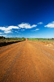 Unsealed road Royalty Free Stock Photo