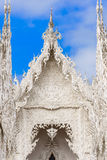 Unseen Thailand, Famous white church in Wat Rong Khun, Chiang Ra Stock Images