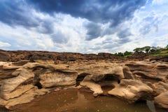 Unseen Thailand grand canyon sam pan bok at ubonratchathani Stock Images