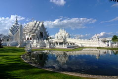 Unseen Thailand Wat Rong Khun Royalty Free Stock Photography