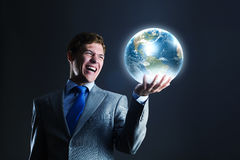 Unser Erdplanet Lizenzfreie Stockfotos