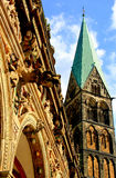 Unser l Frauen Kirche 免版税图库摄影