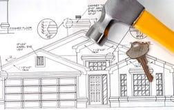 Unser neues Haus Lizenzfreies Stockfoto