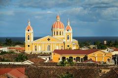 Unsere Dame der Annahme-Kathedrale, Granada, Nicaragua Lizenzfreie Stockfotos