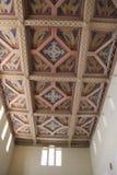 Unsere Dame der Arche der Vertrag-Kirchen-Decke Stockfotografie