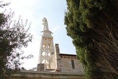 Unsere Dame der Arche der Vertrag-Kirchen-Statue Lizenzfreie Stockbilder