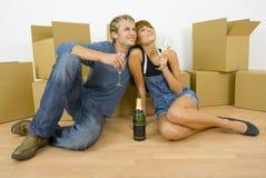 Unsere schöne neue Wohnung Lizenzfreie Stockbilder