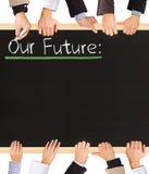 Unsere Zukunft Lizenzfreie Stockbilder