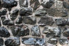 Unshaped Steinwandmuster, Wand hergestellt vom Felsen Stockfotos