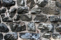 Unshaped stone wall pattern,wall made of rock Stock Photos