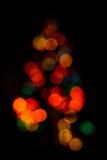 Unsharp Christmas tree Royalty Free Stock Photography