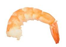Unshelled boiled shrimp Royalty Free Stock Images