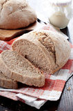 Unshelled bread Stock Image