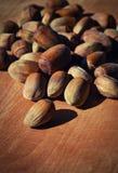 Unshelled hazelnuts Royalty Free Stock Image
