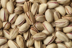 Unshelled pistachio nuts full frame Royalty Free Stock Photos