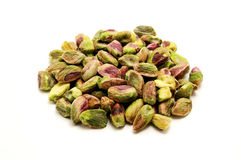 Unshelled pistachios Royalty Free Stock Photography