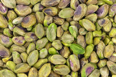 Unshelled pistachios Stock Photo