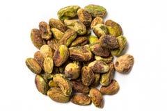 Unshelled pistachios  Stock Image