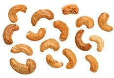 Unshelled roasted cashew nuts Stock Photography