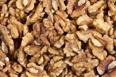 Unshelled walnuts Royalty Free Stock Photo