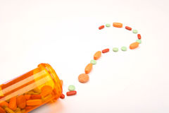 Unsichere medizinische Zukunft Lizenzfreies Stockbild