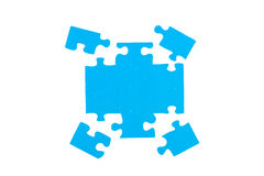 Unsolved puzzle. Royalty Free Stock Image
