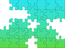 Unsolved puzzle Royalty Free Stock Photo