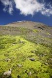 unspoiled горы бортовое Стоковая Фотография RF