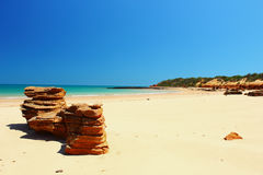 Unspoiled Beach, Western Australia. Unspoiled Beach, near Broome, Western Australia Royalty Free Stock Photography
